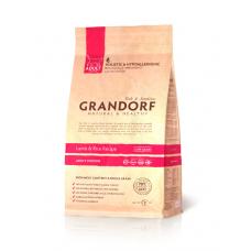 Grandorf Lamb & Rice ADULT INDOOR - ягненок с рисом для взрослых кошек 32/14 - 0,4кг; 2кг