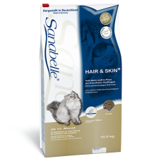 Bosch Sanabelle (Бош Санабель) Hair&Skin. Корм для красивой шерсти кошек 0.4кг;2кг;10кг