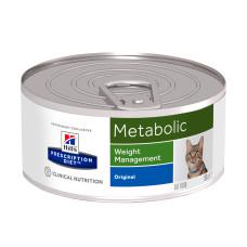 Hill's (Хиллс) Prescription Diet Feline Metabolic Weight Management диета со свининой для кошек, страдающих ожирением и избыточным весом 156г