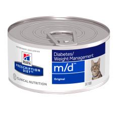 Hill's (Хиллс) Prescription Diet Feline m/d Diabetes Weight Management диета со свининой для кошек, страдающих сахарным диабетом 156г