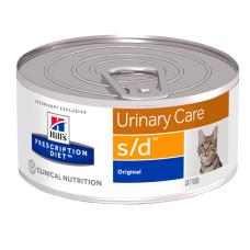 Hill's (Хиллс) Prescription Diet Feline s/d Urinary Care диета со свининой для кошек, страдающих заболеванием мочеполовой системы 156г