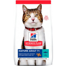 Hill's (Хиллс) Science Plan Feline Mature Adult 7+ Tuna корм для пожилых котов и кошек с тунцом 1,5кг