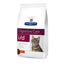 Hill's (Хиллс) Prescription Diet Feline і/d диета для кошек, страдающих от желудочно-кишечных заболеваний 0.4кг;1.5кг;5кг