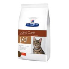 Hills (Хиллс) Prescription Diet Feline J/d диета для кошек, облегчающая боли в суставах 2кг