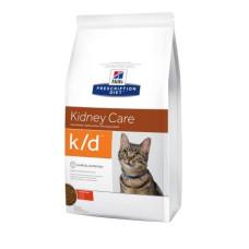 Hill's (Хиллс) Prescription Diet Feline k/d диета для кошек, страдающих от почечной или сердечной недостаточности 0.4кг;1.5кг;5кг
