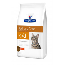 Hill's (Хиллс) Prescription Diet Feline s/d диета для кошек, страдающих от мочекаменной болезни 1.5кг;5кг