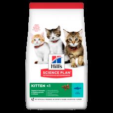 Hill's (Хиллс) Science Plan Kitten Tuna корм для котят с тунцом 0.3кг;1,5кг