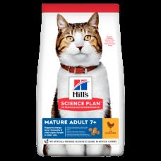 Hill's (Хиллс) Science Plan Feline Mature Adult 7+ Chicken корм для пожилых котов и кошек с курицей 1,5кг;3кг;10кг