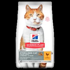 Hill's (Хиллс) Science Plan Feline Young Adult Sterilized Cat Chicken корм для взрослых стерилизованных котов и кошек с курицей 0.3кг;1.5кг;3кг;10кг;15кг