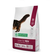 Natures Protection Large cat Adult сухой корм с птицей для взрослых крупных кошек 2кг;18кг