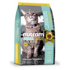 I12 NUTRAM Ideal Solution Support Weight Control Cat корм холистик с курицей и овсянкой для взрослых котов, склонных к ожирению 1.13кг