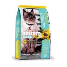 I19 NUTRAM Ideal Solution Support Skin Coat Stomach корм холистик с курицей и лососем для взрослых котов с проблемами кожи, шерсти и желудка 0,32кг; 1,13кг; 5,4кг; 20кг
