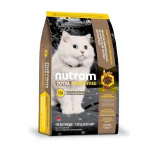 T24 NUTRAM TOTAL GF Salmon & Trout Cat беззерновой корм холистик для котов с лососем и форелью 0,32кг; 1,13кг; 5,4кг