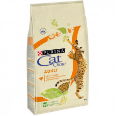 Cat Chow Adult with Chicken & Turkey корм для кошек и котов с курицей и индейкой 0.4кг; 15кг
