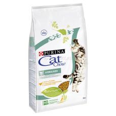 Cat Chow Sterilized корм для кастрированных котов и стерилизованных кошек 0.4кг; 1,5 кг; 15кг