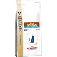 Royal Canin (Роял Канин) Gastro Intestinal Moderate Calorie диета для кошек, страдающих от ожирения и нарушений пищеварения 0.4кг;2кг