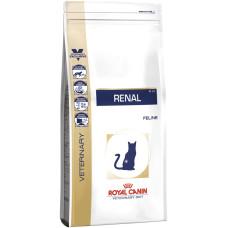 Royal Canin (Роял Канин) Renal cat диета для кошек, страдающих от заболеваний почек 0.4кг;2кг;4кг