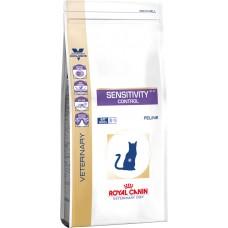 Royal Canin (Роял Канин) Sensivity control cat диета для кошек, страдающих от кожной аллергии 0.4кг;1.5кг