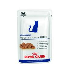 Royal Canin (Роял Канин) Royal Canin Neutered Weight Balance консервированный диетический корм для кастрированных котов и стерилизованных кошек с избыточным весом до 7 лет 100г