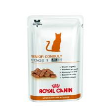 Royal Canin (Роял Канин) Senior Consult Stage 1 WET Feline консервированный диетический корм для котов и кошек старше 7 лет, не имеющих видимых признаков старения 100г