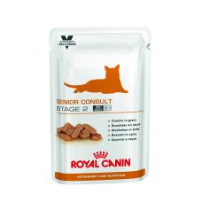 Royal Canin (Роял Канин) Senior Consult Stage 2 WET Feline консервированный диетический корм для котов и кошек старше 7 лет, имеющие видимые признаки старения 100г