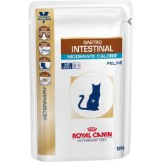 Royal Canin (Роял Канин) Gastro Intestinal Moderate Calorie Feline консервированный диетический корм для кошек с нарушением пищеварения. 100г