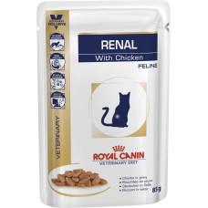 Royal Canin (Роял Канин) Renal Feline диетический корм для кошек, страдающих почечной недостаточностью 85г