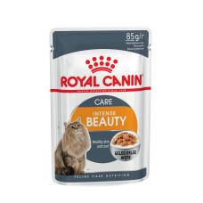 Royal Canin (Роял Канин) Intense Beauty in jelly корм для поддержания здоровой кожи и красивой шерсти (кусочки в желе) 85г