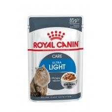Royal Canin (Роял Канин) Ultra Light корм для котов, склонных к полноте 85г