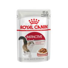 Royal Canin (Роял Канин) Instinctive Gravy корм для взрослых котов (кусочки в соусе) 85г