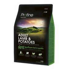 Profine (Профайн) ADULT LAMB & POTATOES ягненок и картофель для взрослых собак 3кг;15кг