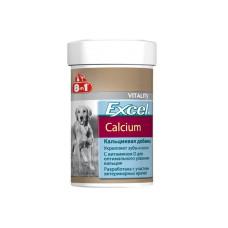 8in1 Excel Calcium Кальциевая добавка для собак с витамином D 155табл;470табл