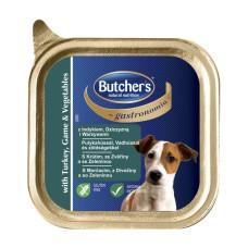 Butcher's (Бутчерс) Gastronomia. Корм-паштет с индейкой, дичью и овощами 0.15кг