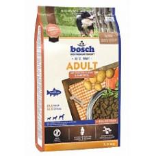 Bosch (Бош) HPC Bosch Adult Salmone and Potato. Корм для взрослых собак всех пород 1кг;3кг;15кг