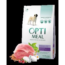Корм Optimeal для собак малых пород с уткой 0,65 кг; 4 кг;