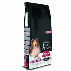 ProPlan Medium Sensitive. С лососем. Для собак средних пород склонных к аллегрии 14 кг