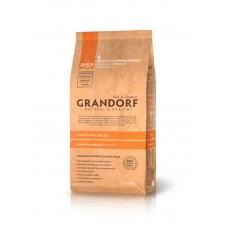 Grandorf Junior - ягненок с рисом для юниоров 28/17 - 1кг; 3кг; 12кг