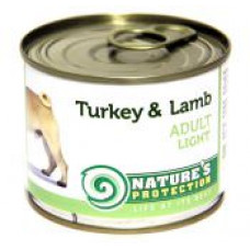 Natures Protection Adult Light Turkey&Lamb 0.2 кг
