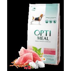 Корм Optimeal для собак средних пород с индейкой 1,5 кг; 4 кг; 12; кг