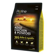 Profine (Профайн) ADULT CHICKEN & POTATOES курица и картофель для взрослых собак 3кг;15кг