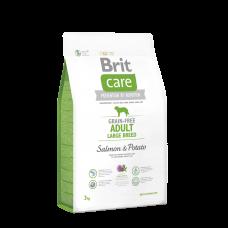 Brit Care GF Adult Large Breed Salmon & Potato 1 кг; 3 кг; 12 кг (д/собак весом от 25 кг)