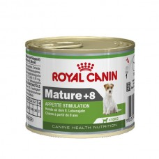 Royal Canin (Роял Канин) Mature+8 консервированный корм для пожилых собак мелких пород 195г