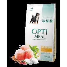 Корм Optimeal для собак больших пород с курицей 1,5 кг; 4 кг; 12; кг