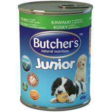 Buther's (Бутчерс) Junior. Консервированный корм для щенков с ягненком 0.4кг