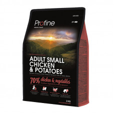 Profine (Профайн) ADULT SMALL BREED CHICKEN & POTATOES курица и картофель для взрослых собак маленьких пород 0,3кг;2кг;10кг