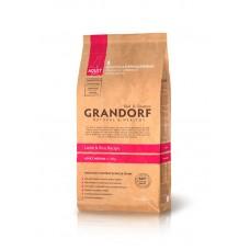 Grandorf Adult Medium Breed - ягненок с рисом для взрослых собак 26/15 - 1кг;3кг;12кг