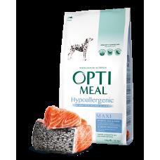 Корм Optimeal для собак больших пород гипоаллергенный с лососем 12; кг