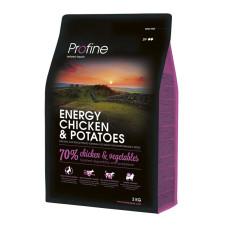 Profine (Профайн) ENERGY CHICKEN & POTATOES курица и картофель для взрослых собак с повышенной физической нагрузкой 3кг;15кг