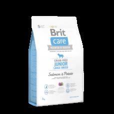 Brit Care GF Junior Large Breed Salmon & Potato 1 кг; 3 кг; 12 кг (д/щенков гигантских пород)