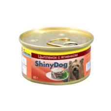 Gimpet (Джимпет) Shiny Dog Chicken&Lamb. Консервированный корм для собак с мясом курицы и ягненка в желе 0.085 кг